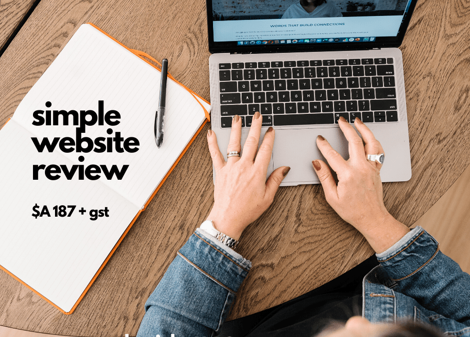 simple website review